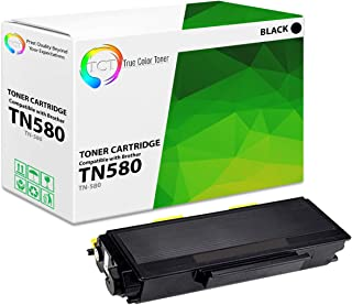 TCT Premium Compatible Toner Cartridge Replacement for Brother TN-580 TN580 Black High Yield Works with Brother DCP-8060 8065, HL-5240 5250 5280, MFC-8460 8660 8870 8860 Printers (7,000 Pages)