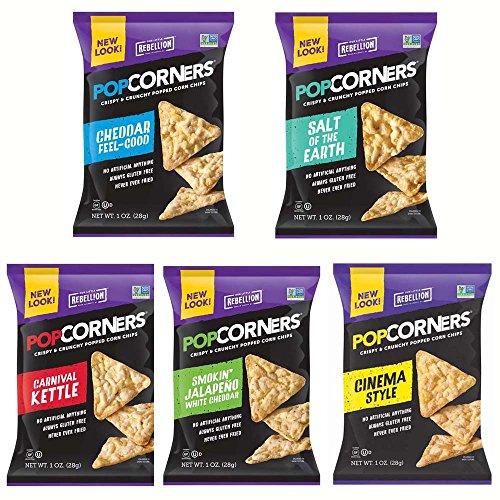 PopCorners 5 Flavor Variety Pack 1.1 Oz Bags (20 Pack)