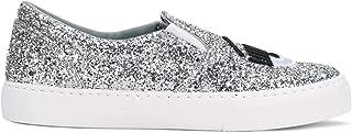 Luxury Fashion Womens CF2060 Silver Slip On Sneakers | Season Outlet