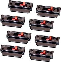 Seat Belt Tension Adjuster (8-Pack, Black)