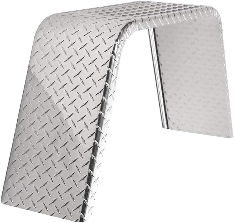 ToughGrade Aluminum Year-end gift Diamond Plate Flat Top Fender X 36