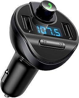 Criacr Bluetooth FM Transmitter Full Black