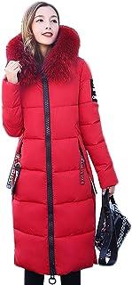 10a5f14602 Battercake Femme Doudoune Manteau Hiver Longues Parka Poches Latérales avec  Fermeture Éclair Manches Longues Mode Chic