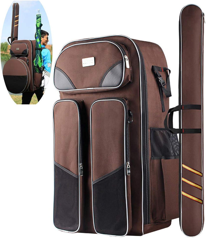 LXMBox Angeln Stuhl Rucksack, Angelausrüstung Tasche, Angeltasche Rucksack, Mehrzweck-Angeltasche, Sitz Stuhl Hocker Tasche,G