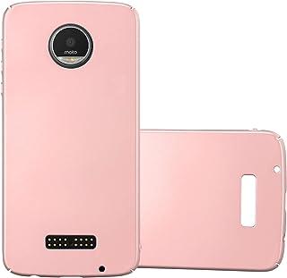 8a4a735c534 Cadorabo Funda para Motorola Moto Z Play en Metal Oro Rosa - Cubierta  Protección de Plástico