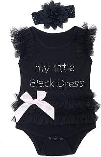Baby Girls' Lace Tutu Dress Bodysuit with Headband
