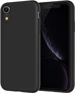 JETech Silikonowe Etui Kompatybilne z iPhone XR, 6,1 cala, Jedwabiste Miękkie w Dotyku Etui Ochronne na Cały Korpus, Odpor...