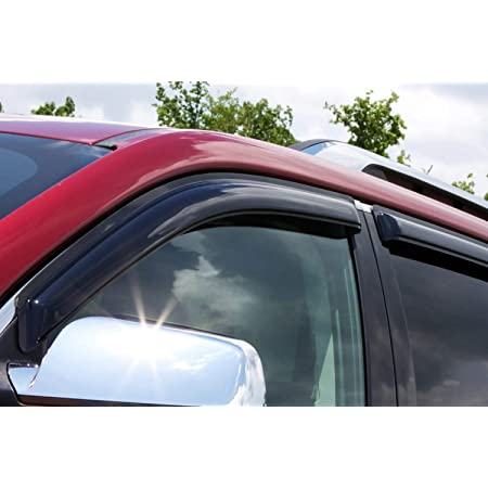 Auto Ventshade 94267 Original Ventvisor Side Window Deflector Dark Smoke 4 Piece Set For 2011 2020 Dodge Durango Automotive