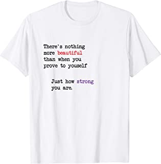 Domestic Violence Awareness Quote T-Shirt