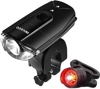 【INVAVO】 自転車ライト 1200ルーメン 2000mah 自転車前照灯 自転車ヘッドライト高輝度 USB充電 押しスイッチ超小型 LED 懐中電灯 機能付 軍事用 IP65 防水 防災 スポーク