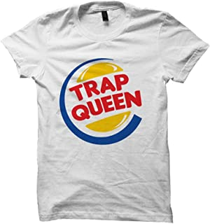 Celebrity Cotton Trap Queen T-Shirt Funny Cute Shirts Under 20 Mens Tops Plus Sizes