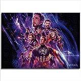 Puzzle 1000 Piezas película Avengers Endgame difícil Rompecabezas Regalo de Pascua 26x38