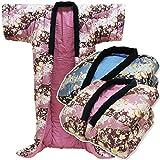 かいまき布団 日本製 手作り かい巻き 布団 サイズ 130×185cm 表裏地=綿100% なかわた増量タイプ 1.3kg入り (エンジ)
