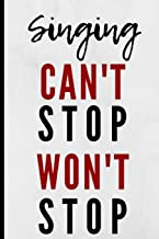 Best can t stop singing sheet music Reviews