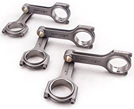 maXpeedingrods Connecting Rods for Nissan L28 12V 2.8L Engine, for Nissan Patrol, for Datsun 280ZX Turbo and More with 3/8
