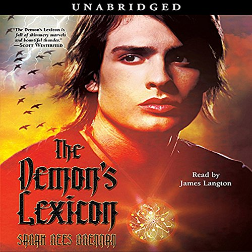 The Demon's Lexicon audiobook cover art