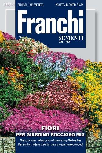 """Franchi Steingarten-Blumenmischung """"Rocciosi"""", italienische Aufschrift"""