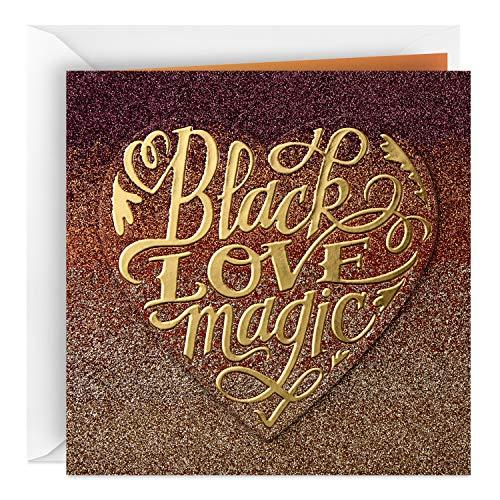 Hallmark Mahogany Anniversary Card, Love Card for Significant Other (Black Love Magic)