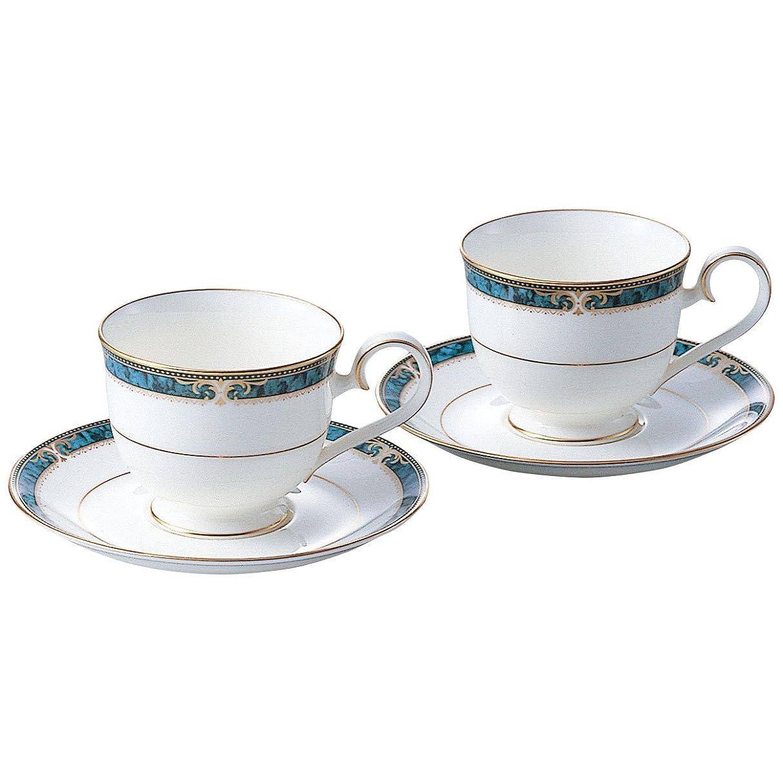 軽くコーデリアピークNoritake(ノリタケ) ボーンチャイナ エセックスコート コーヒー碗皿ペアセット P97217/4727