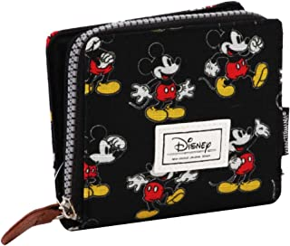 Disney Classic Mickey Moving Coin Pouch, 11 cm, Black (Negro)