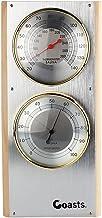 Jian Ya Na Acero Inoxidable Sauna termómetro higrómetro Vertical 7.7