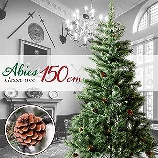 クリスマスツリー 150㎝ おしゃれ 北欧 松ぼっくり付き ドイツトウヒツリー Abies アビエス