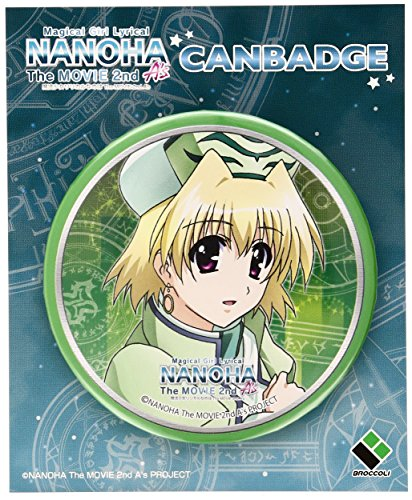 Magical Girl Lyrical Nanoha The MOVIE 2nd A's buttons Shamal (japan import)