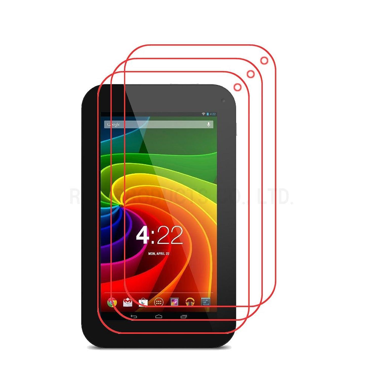 感情のストレスの多いふりをする【3枚パック】【RISEオリジナル】Toshiba Tablet AT7-B618 AT7-B619 液晶保護フィルム 防指紋 反射軽減 映り込み防止 マットタイプの高品質防指紋液晶保護フィルム