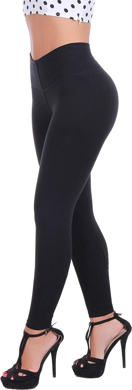 Bon Bon Up Cotton Leggings for Women with Internal Body Shaper and Butt Lifter Multiple Styles