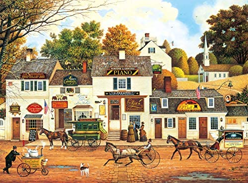 Buffalo Games Charles Wysocki Olde Cape Cod 1000 Piece Jigsaw Puzzle product image