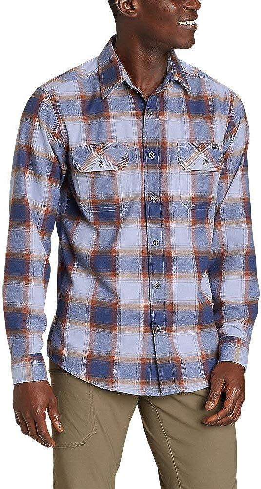 Eddie Bauer Men's Excavation Flannel Shirt - Pattern
