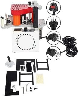 Portable Edge Bander, Portable Lightweight MY60 Portable Edge Bander Double Glue Wood Banding Machine for Frame Shapes(#1)