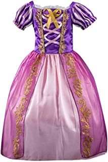 5f453b81c9611 Internet Robe Enfants Filles BéBé Imprimé Rayé Princesse Bling Costumes  Robes De Party Tutu VêTements De