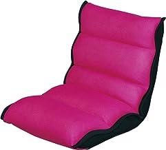 アイリスオーヤマ 座椅子 もこもこ メッシュ生地 14段階リクライニング ピンク ZCM-1