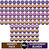 96 Count Variety (10 Amazing Blends), Single-serve Cups for Keurig K-cup Brewers - Premium Roasted...