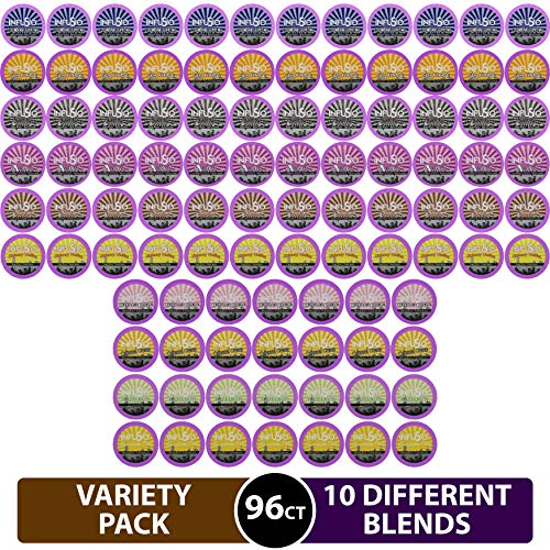Our #3 Pick is the InfuSio 96 Count Variety K-cups Premium Roasted Coffee