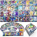 100 Various V and Vmax Poke Pack,Includes 40 Higher Level HP Rare Cards (VMAX)