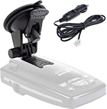 $23 » ChargerCity Super Suction Mount & Power Cable Kit for Escort Solo S2 S3 S55 s75 s75g Passport 8500X50 x70 x80 8500 9500 ST...
