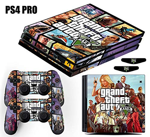 Skin PS4 Pro GTA 5 Grand Theft Auto V - Roxo