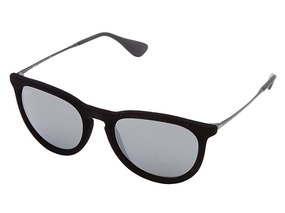 Ray-Ban Erika (Velvet Black) Plastic Frame Fashion Sunglasses