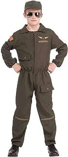 Forum Novelties Fighter Jet Pilot Boy Costume