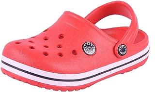 FLIPSIDE Unisex Kid's Red Clogs Flip-Flops