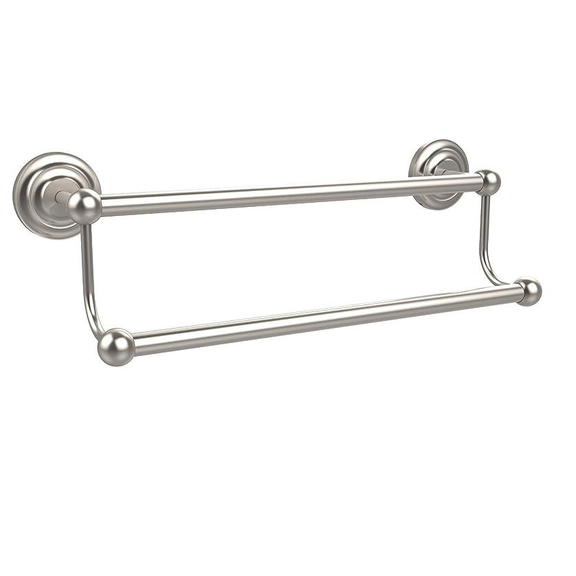 摘む程度デッキAllied Brass PQN-72/24-SN 24-Inch Double Towel Bar, Satin Nickel [並行輸入品]
