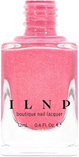 ILNP Paper Heart - Brink Pink Holographic Nail Polish