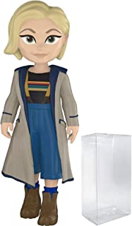 Funko Rock Candy: Doctor Who - Thirteenth Doctor Jodie Whittaker Vinyl Figure (Bundled with Pop Box Protector Case)