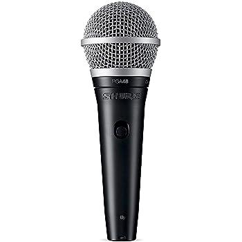 Shure PG ALTA Cardioid Dynamic Vocal Microphone with XLR-XLR Cable (PGA48-XLR)