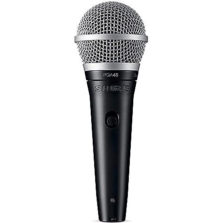 Shure Pga48 - Microfono Dinamico Per Voce Con Pattern Polare A Cardioide, Completo Di Cavo Xlr-Xlr