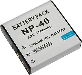 EX-Z700GY Batería 2x intensilo 1250mAh para Casio Exilim Zoom EX-Z650 EX-Z700