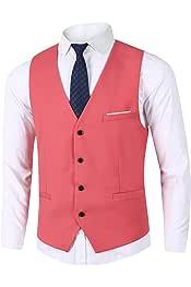 Amazon.es: Rosa - Chalecos / Trajes y blazers: Ropa