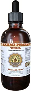 Thuja Liquid Extract, Thuja (Thuja Occidentalis) Dried Leaf Tincture Supplement 4 oz by HawaiiPharm